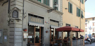 piazza santo spirito florence italy